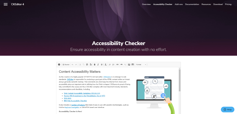 accessibility checker tool