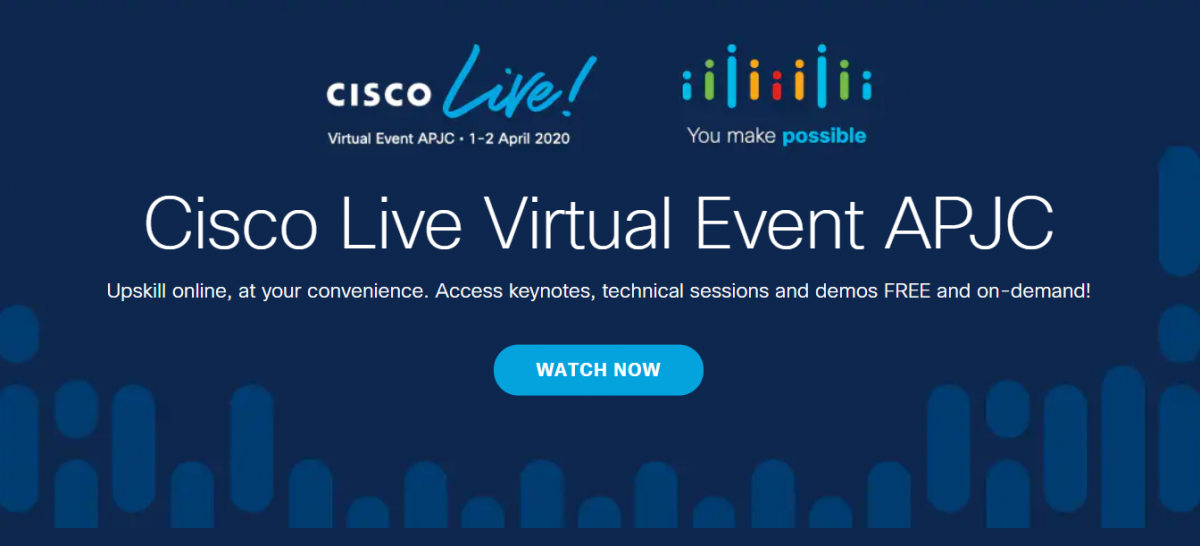 Cisco Live Virtual Event APJC