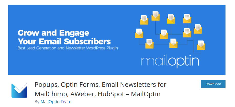 MailOptin WordPress lead generation plugin