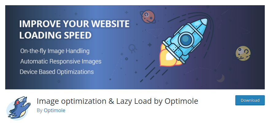 Optimole — image optimization plugin for WordPress